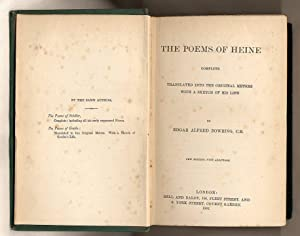The Poems of Heine; With a Sketch: Heine, Heinrich [Translated
