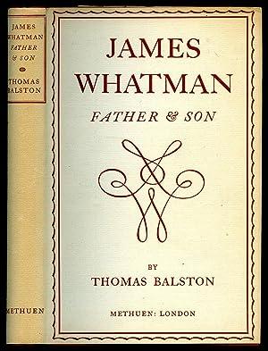 James Whatman: Father & Son: Balston, Thomas [James