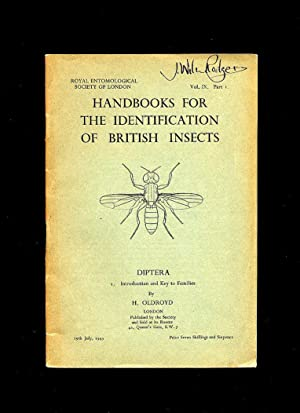 Handbooks For the Identification of British Insects: Oldroyd, H.