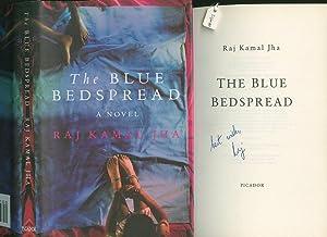 The Blue Bedspread [Signed]: Jha, Raj Kamal