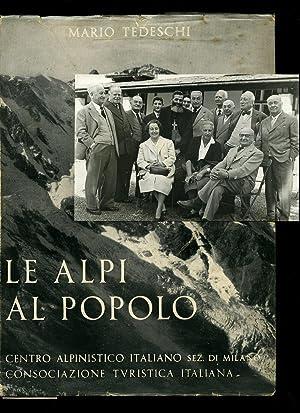 Le Alpi Al Popolo con un Profilo: Tedeschi, Mario [Camillo