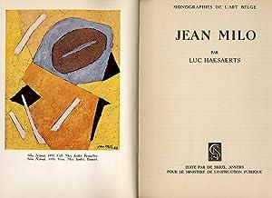 Jean Milo; Monographies de L'Art Belge: Haesaerts, Luc [Jean