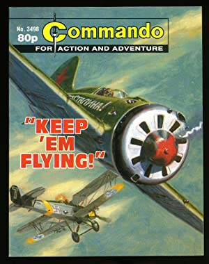 Commando for Action and Adventure: No. 3498