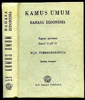 Kamus Umum Bahasa Indonesia: Poerwadarminta, W. J. S.