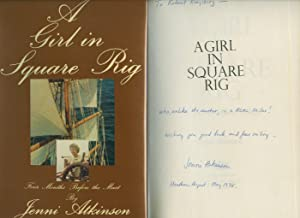 A Girl In Square Rig; Four Months: Atkinson, Jenni