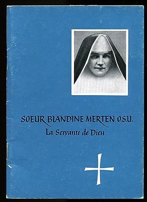 Neuvaine et Grâces obtenues 1966; Soeur Blandine Merten: M. Hermenegildis Visarius