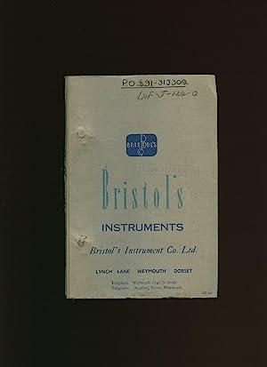 Bristol's Instruments Instruction Manual EF 16000 Installation,: Bristol's Instrument Co.