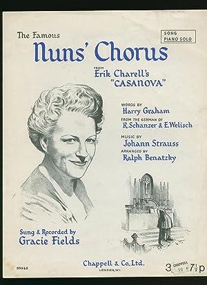 Nuns' Chorus; From Erik Charell's Casanova [Vintage Piano Sheet Music]: Harry Graham [...