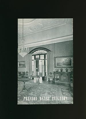 Preston Manor [Thomas-Stanford Museum] Brighton; A history: Roberts, Henry D.