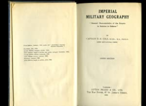 Imperial Military Geography; General Characteristics of the: Cole, Captain D.