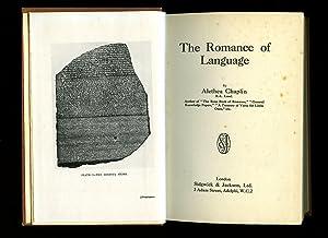 The Romance of Language: Chaplin, Alethea