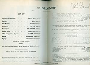 Son of Oblomov [Signed]: Milligan, Spike [1918-2002]