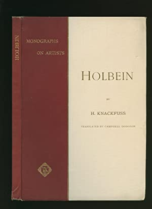 Holbein; Monographs on Artists Series: Translated by Dodgson,