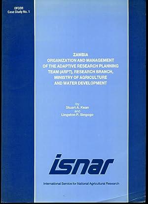 Zambia Organization and Management of the Adaptive: Kean, Stuart A.