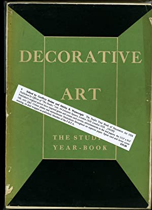 The Studio Year Book of Decorative Art 1928: Edited by Geoffrey Holme and Shirley B. Wainwright