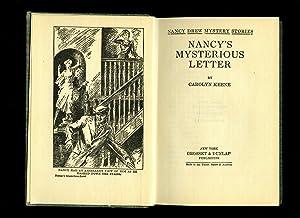 Nancy's Mysterious Letter: Keene, Carolyn [House