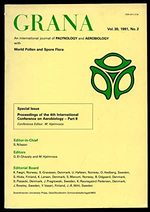 Grana; An International Journal of Palynology and: Edited by S.