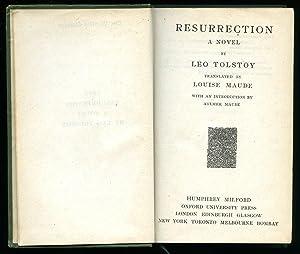 Resurrection [The World's Classics Series]: Tolstoy, Leo [Translated