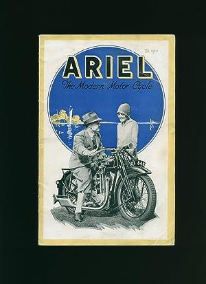 Ariel; The Modern Motor Cycle Catalogue Brochure