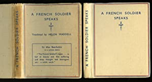 A French Soldier Speaks: Jaques [Translated by