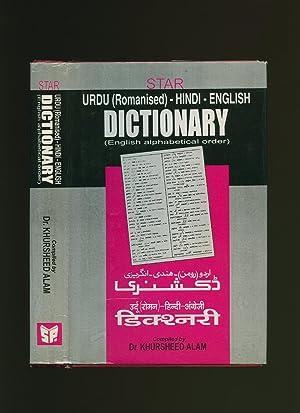 Star's Romanised Urdu Hindi English Dictionary in: Alam, Dr. Khurshid