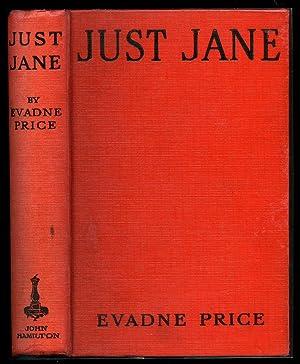 Just Jane: Price, Evadne [1896-1985]