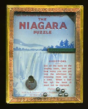 The Niagara Puzzle; The R. J. Series of Popular Puzzles. Complete Moving Ball Bearing Game: R. ...
