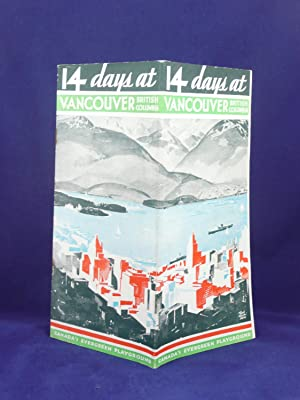 14 DAYS T VANCOUVER BRITISH COLUMBIA CANADA'S EVERGREEN PLAYGROUND: Greater Vancouver ...