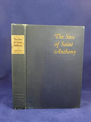 THE SINS OF SAINT ANTHONY: TALES OF THE THEATRE: Collins, Charles [Charles William, 1880-1964]