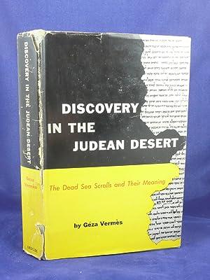 DISCOVERY IN THE JUDEAN DESERT: Vermes, Geza [1924-2013]
