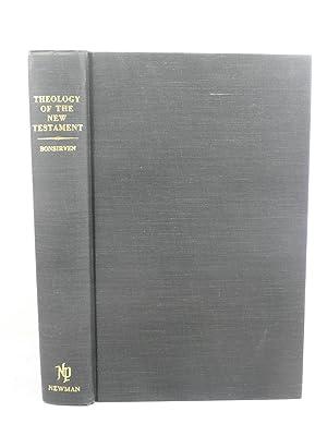 THEOLOGY OF THE NEW TESTAMENT: Bonsirven, Joseph [1880-1958]