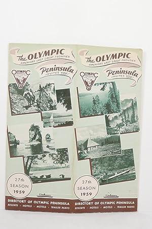 DIRECTORY OF OLYMPIC PENINSULA 27th SEASON 1959 [WASHINGTON]: Lambert, Hannah (corresponding ...