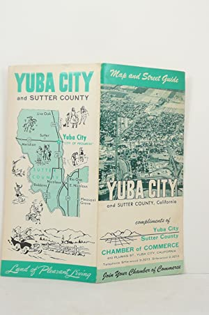 MAP AND STREET GUIDE YUBA CITY SUTTER COUNTY [CALIFORNIA]: Map Corporation of America