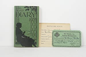 THE GIRL SCOUT DIARY 1933 [Kathryn Block, Bothell, WA]: Girl Scouts, Inc.