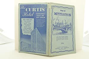 HUDSON'S INDEXED MAP OF MINNEAPOLIS: Hudson Map Company