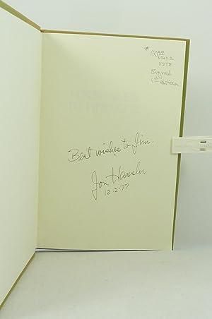 FOUR MILES TO PINECONE: Hassler, Jon [1933-2008]