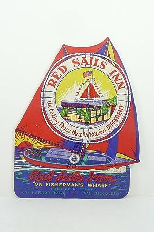 RED SALILS INN ON FISHERMAN'S WHARF [MENU]: Mrs. Viery (Proprietress, Red Sails Inn)