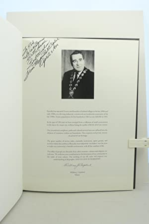 BURNABY A PROUD CENTURY. A HISTORICAL COMMEMORATION OF BURNABY'S CENTENNIAL [SIGNED by Mayor ...