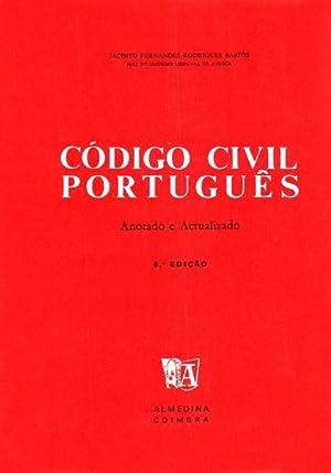 C?DIGO CIVIL PORTUGU?S.: RODRIGUES BASTOS. (Jacinto