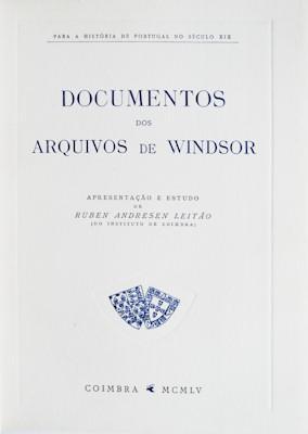 DOCUMENTOS DE WINDSOR.: ANDRESEN LEITÃO. (Ruben)