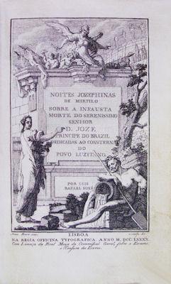 NOITES JOZEPHINAS DE MIRTILO SOBRE A INFAUSTA: SOYÉ (Luis Rafael)
