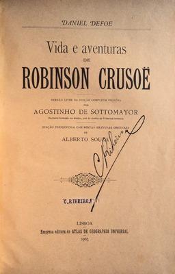 VIDA E AVENTURAS DE ROBINSON CRUSOË.: DEFOE. (Daniel)