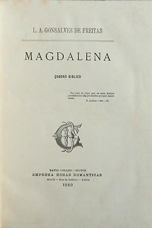 MAGDALENA. Quadro bíblico.: GONSALVES DE FREITAS.