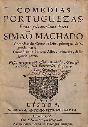 COMEDIAS PORTUGUEZAS,: SIMÃO MACHADO (Boaventura)