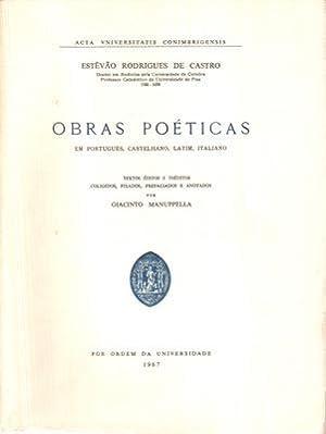 OBRAS POÉTICAS: RODRIGUES DE CASTRO