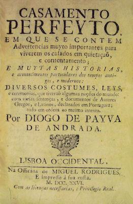 CASAMENTO PERFEYTO,: PAIVA DE ANDRADE.