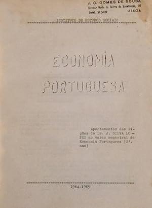 ECONOMIA PORTUGUESA.: SILVA LOPES (J.)