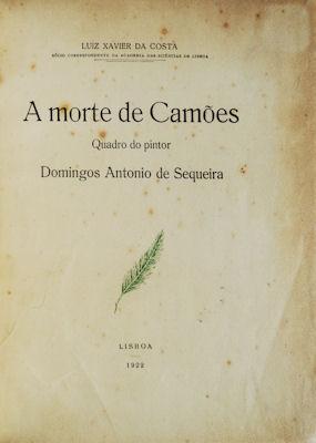 A MORTE DE CAMÕES.: COSTA. (Luiz Xavier