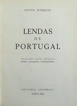 LENDAS DE PORTUGAL.: MARQUES. (Gentil)