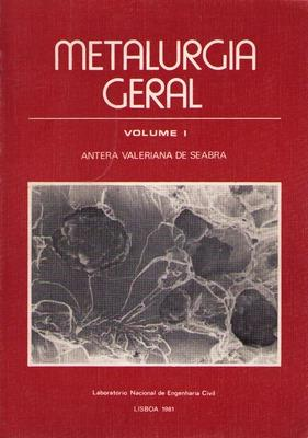METALURGIA GERAL.: SEABRA (Antera Valeriana
